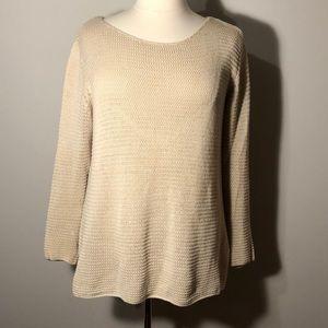 Khaki knit sweater